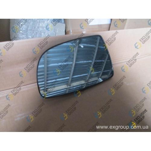 Стекло зеркала левое механическое Т250