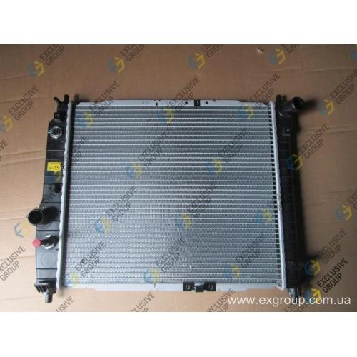 Радиатор охлаждения двигателя 1.2 A/T