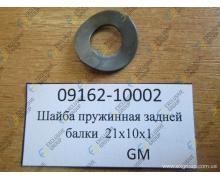 Шайба пружинная задней балки 21x10x1