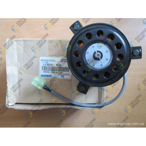 Мотор вентилятора радиатора