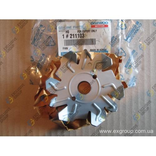 Крыльчатка вентилятора генератора (95А)