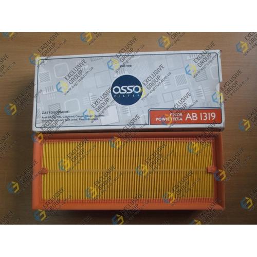 Фильтр воздушный Audi80(2.0-2.3 бенз91-96г.в),VW Caddy,Golf,Passat,Jetta81-92г.в.