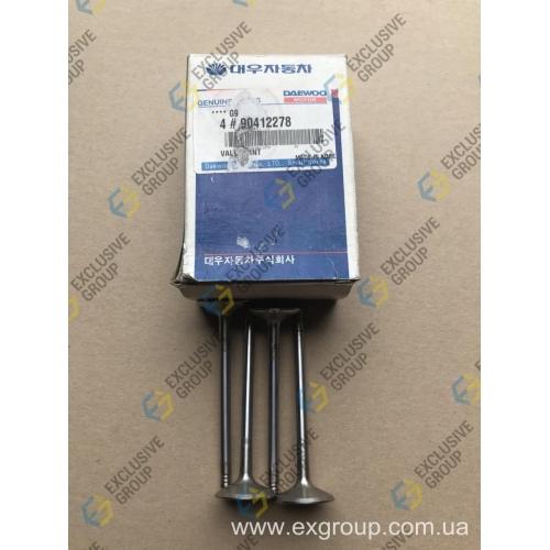 Клапан впускной 0.075 mm (4шт. компл.)