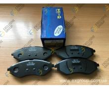 Колодки тормозные передние (Hi-Q)