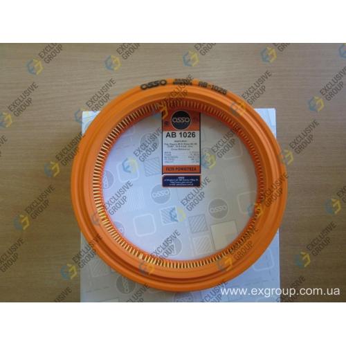 Фильтр воздушный FIAT Uno 1.1-1.5 83-93г (A23.5 B19 H4.5)