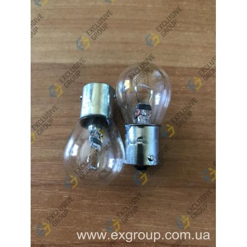 Лампа автомобильная стопов поворотов 12V 21W (1 контакт)