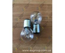 Лампа автомобильная стопов габарита 12V 21/5W (2 контакта)