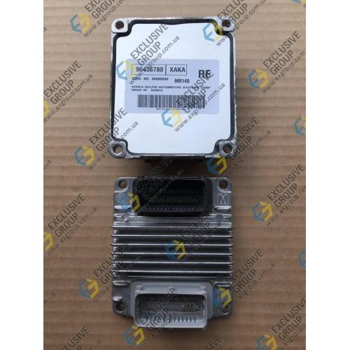 Блок управления двигателем mr140 1.4 акпп