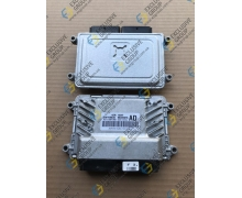 Блок управления двигателем 1.2-1.4 механика, без АБС, иммобилайзер