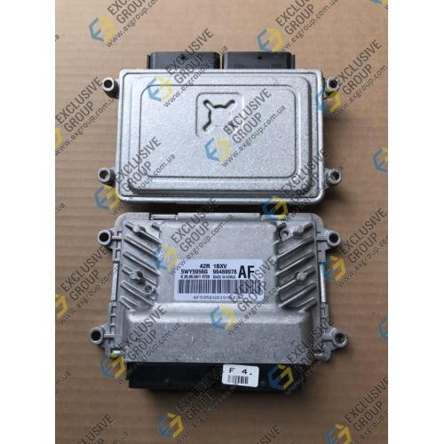 Блок управления двигателем 1.2-1.4 механика, АБС, иммобилайзер