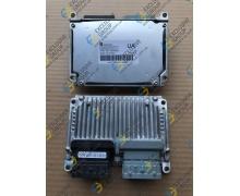 Блок управления двигателем 1,4 АКПП (МТ80) UA
