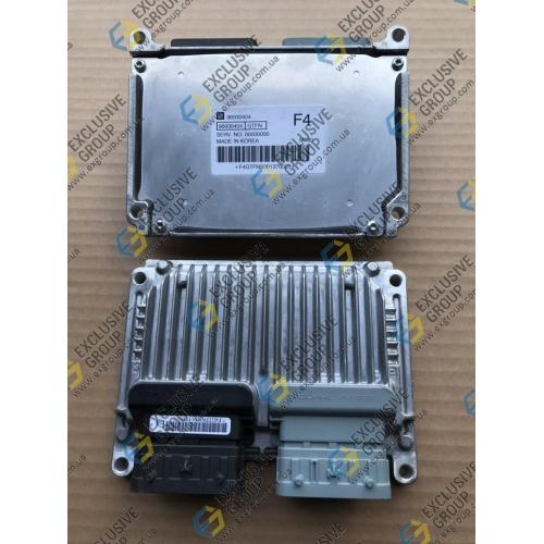 Блок управления двигателем 1,4 АКПП (МТ80) F4