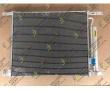 Радиатор кондиционера в сборе (конденсатор) Т-255 после 2009 г.в.