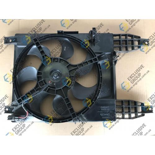 Вентилятор радиатора в сборе Т-255 с/к (после 2009 г.в)