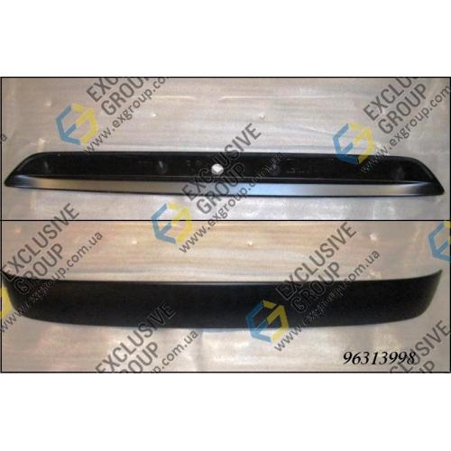 Спойлер крышки багажника HB 3/5 дв. черный
