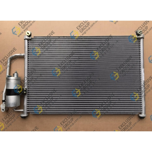 Радиатор кондиционера в сборе (конденсатор)