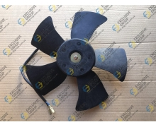 Вентилятор радиатора основной 5 лопастей (мотор+крыльчатка)