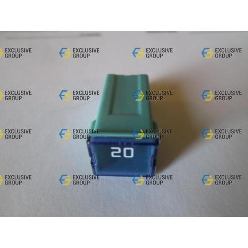 Предохранитель 20А (квадратный) голубой