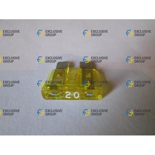 Предохранитель плоский 20А (желтый)
