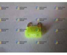 Предохранитель мини 20А желтый