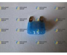 Предохранитель мини 15А синий