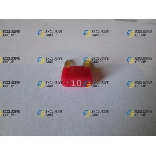 Предохранитель мини 10A красный